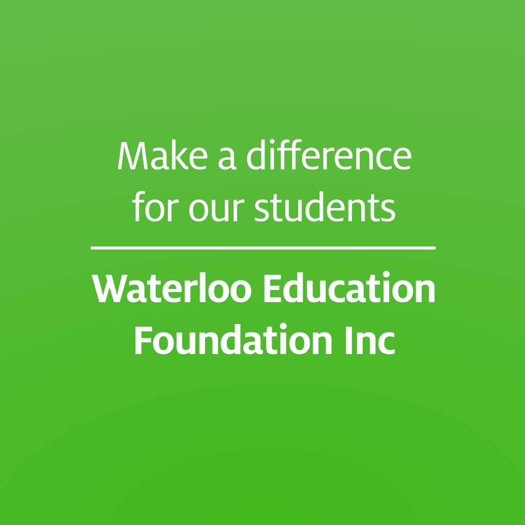Donate Online! Waterloo Education Foundation Inc. (WEFI)