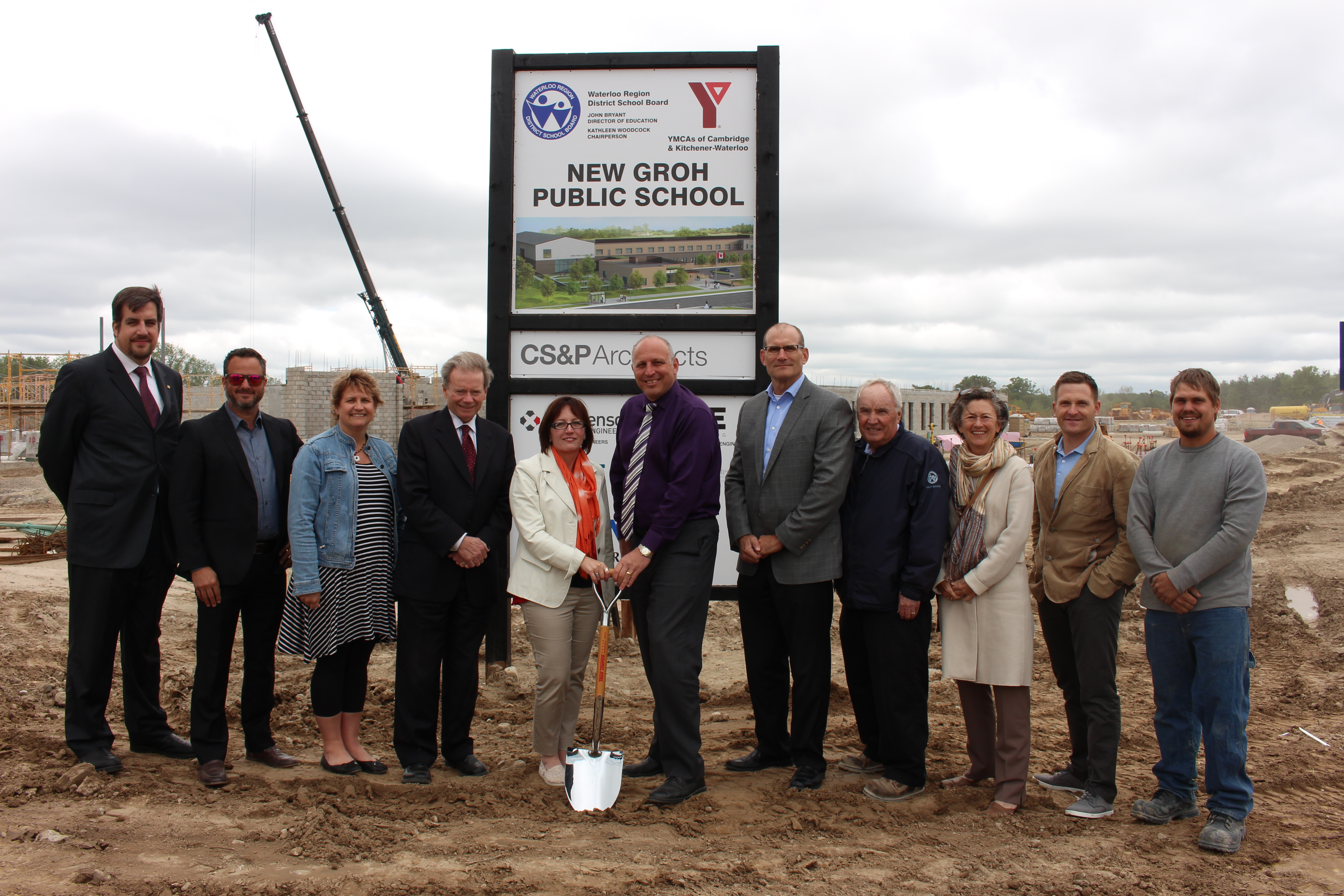 It's official – let the construction continue!