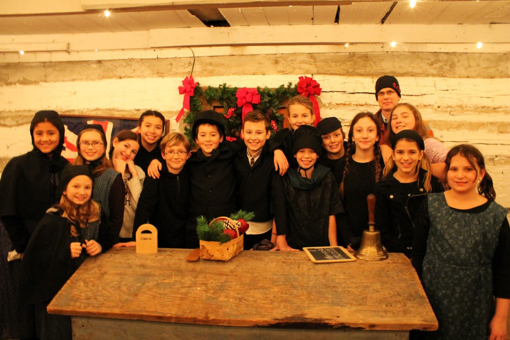 The talented Grade 6 cast members!